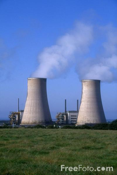 Picture of BNFL Chapelcross Magnox nuclear power station - Free Pictures - FreeFoto.com