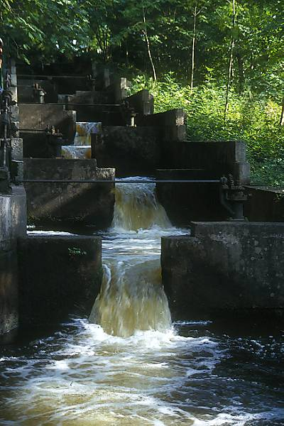 Picture of Fish ladder, Galloway hydro electric scheme - Free Pictures - FreeFoto.com