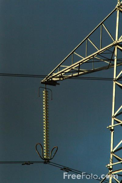 Picture of Power Lines - Free Pictures - FreeFoto.com