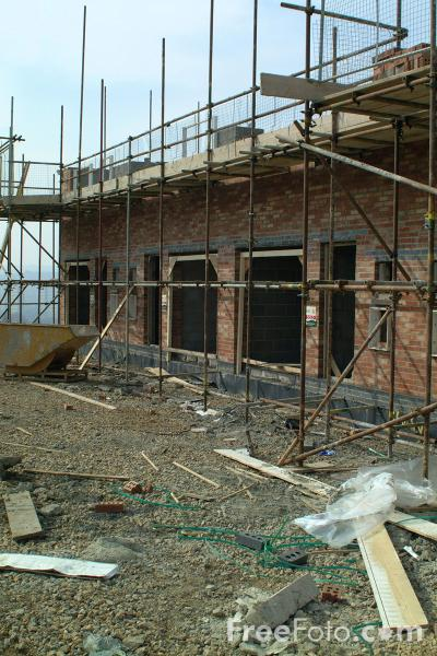 Picture of House Building - Free Pictures - FreeFoto.com