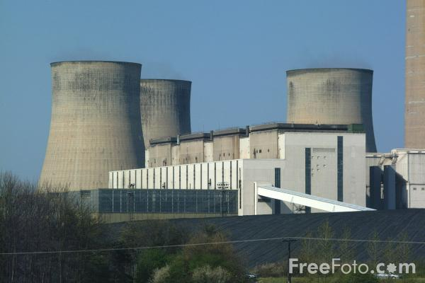 Picture of Ratcliffe on Soar Power Station - Free Pictures - FreeFoto.com