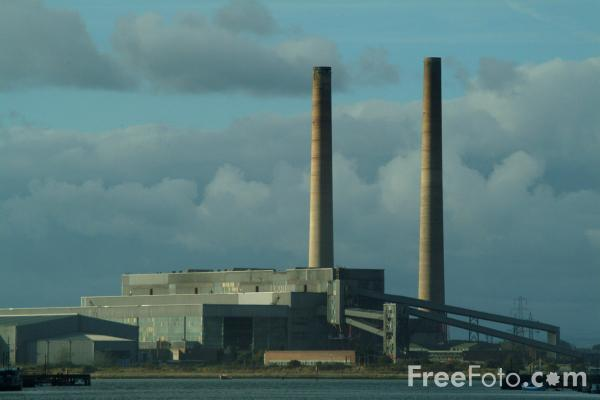 Picture of Blyth A and B Power Station - Free Pictures - FreeFoto.com