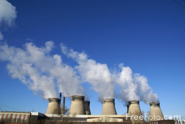 Picture of Ferrybridge C Power Station - Free Pictures - FreeFoto.com