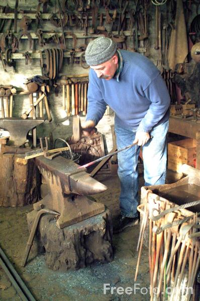 Picture of Traditional Blacksmith - Free Pictures - FreeFoto.com