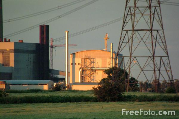 Picture of Arable Biomass Renewable Energy Power Station - Free Pictures - FreeFoto.com