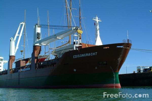 Picture of Edisongracht, Port of Southampton - Free Pictures - FreeFoto.com