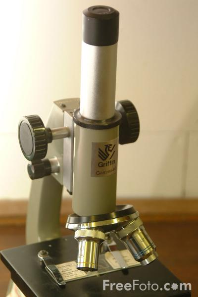 Picture of Microscope - Free Pictures - FreeFoto.com