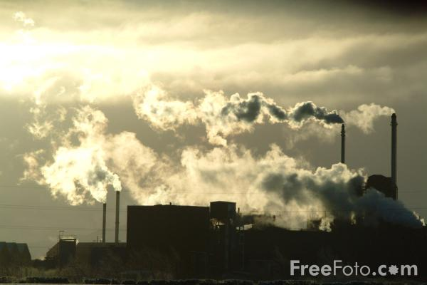 Picture of Chromium factory, Eaglescliffe - Free Pictures - FreeFoto.com