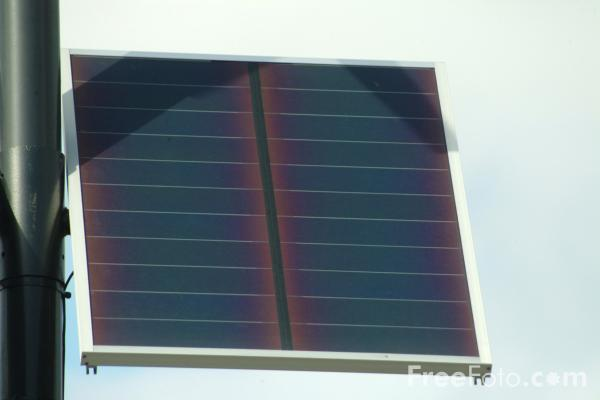 Picture of Solar Panel - Free Pictures - FreeFoto.com
