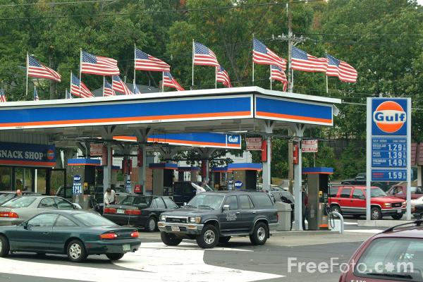 Picture of gas station free pictures freefoto com