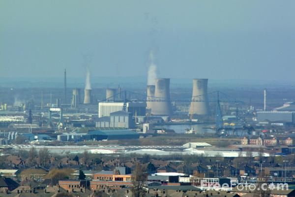 Picture of Industrial Skyline, Middlesbrough - Free Pictures - FreeFoto.com