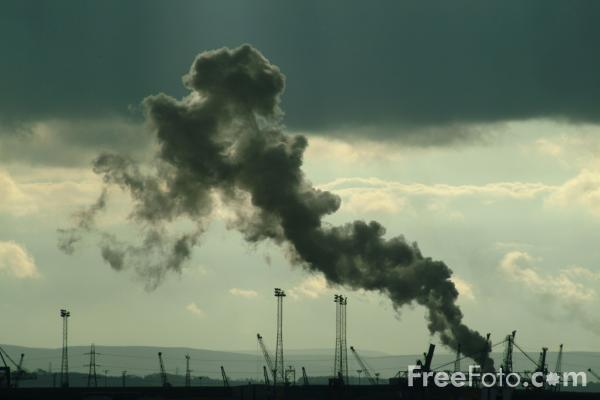 Picture of Industrial Skyline, Teesmouth - Free Pictures - FreeFoto.com