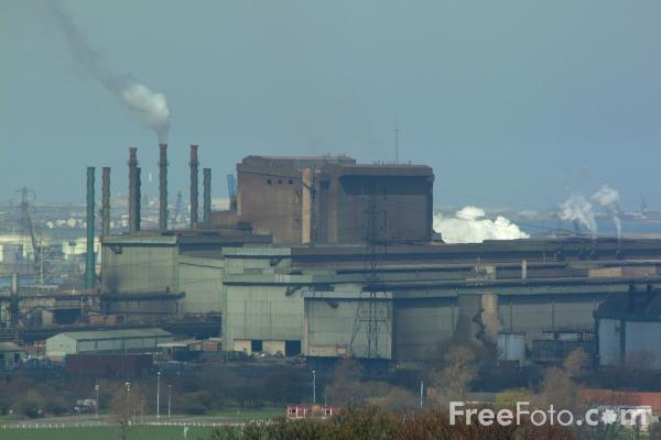Picture of Lackenby Steelmaking Site - Free Pictures - FreeFoto.com
