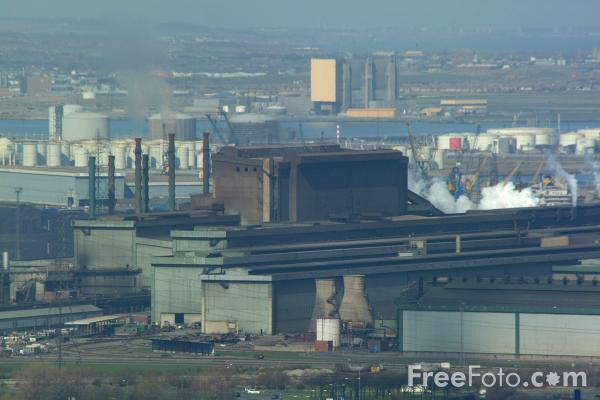 Picture of Corus Lackenby Steelmaking Site - Free Pictures - FreeFoto.com