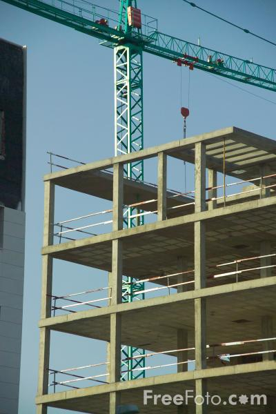 Picture of Building under construction - Free Pictures - FreeFoto.com