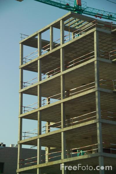 building construction. Picture of Building under