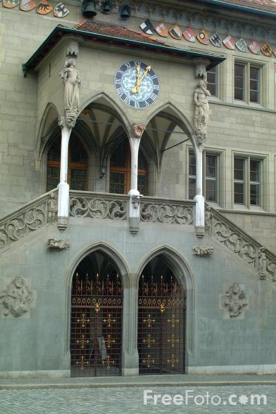 Picture of Rathaus, Rathausplatz, Bern, Switzerland - Free Pictures - FreeFoto.com