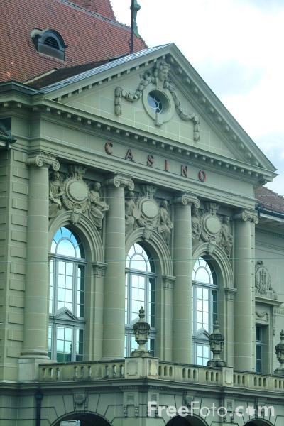 Picture of The Casino, Bern, Switzerland - Free Pictures - FreeFoto.com