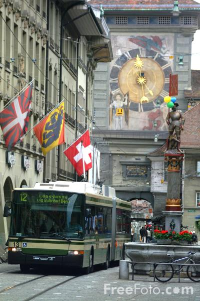 Picture of The Zytglogge Clock, Bern, Switzerland - Free Pictures - FreeFoto.com