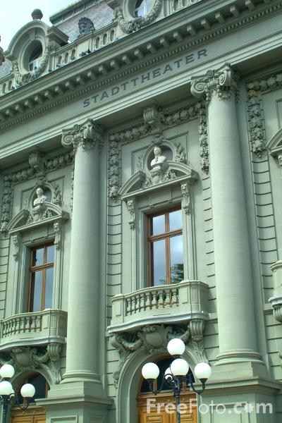 Picture of Stadt Theater, Bern, Switzerland - Free Pictures - FreeFoto.com