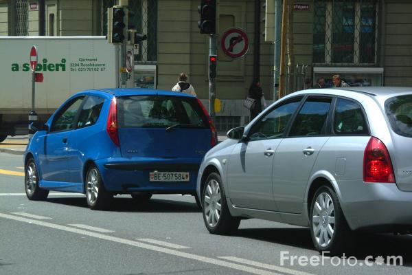 Picture of Traffic, Bern, Switzerland - Free Pictures - FreeFoto.com