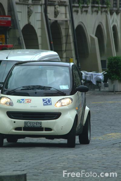 Picture of Smart Car, Bern, Switzerland - Free Pictures - FreeFoto.com