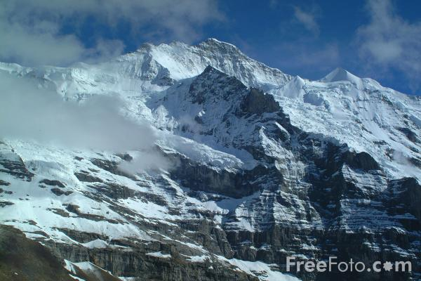 Picture of Kleine Scheidegg, Berner Oberland, Switzerland - Free Pictures - FreeFoto.com