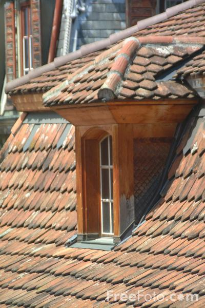 Picture of Roof Tops, Thun, Berner Oberland, Switzerland - Free Pictures - FreeFoto.com