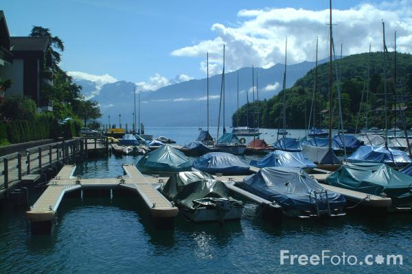 Picture of Marina, Spiez, Berner Oberland, Switzerland - Free Pictures - FreeFoto.com