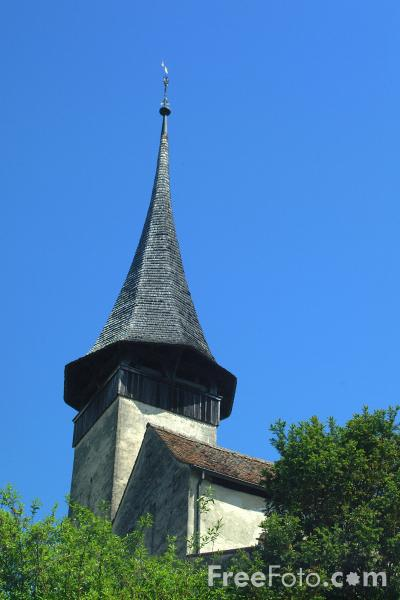Picture of Romanesque Church, Spiez, Berner Oberland, Switzerland - Free Pictures - FreeFoto.com