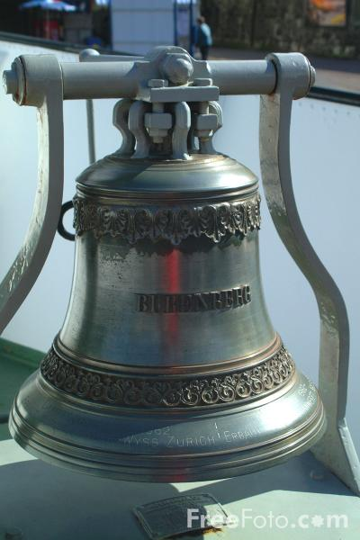 Picture of Ships Bell, Lake Thun Ferry, Berner Oberland, Switzerland - Free Pictures - FreeFoto.com