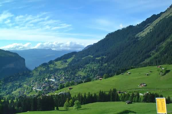 Picture of Wengen, Berner Oberland, Switzerland - Free Pictures - FreeFoto.com