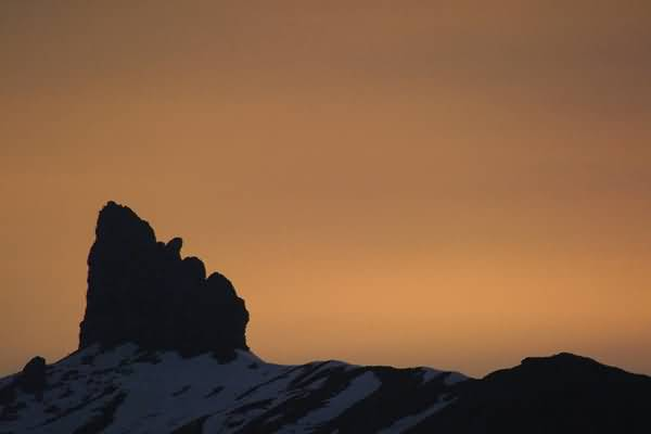 Picture of Sunset, The Lobhorn, Berner Oberland, Switzerland - Free Pictures - FreeFoto.com