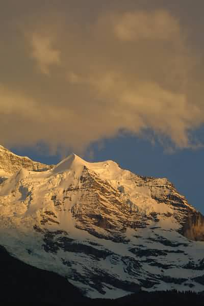 Picture of Sunset, Wengen, Berner Oberland, Switzerland - Free Pictures - FreeFoto.com