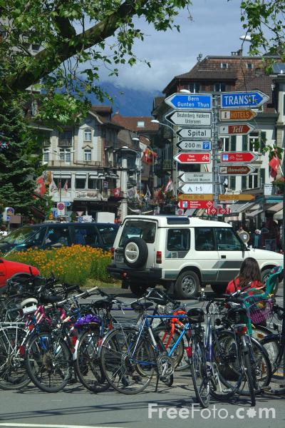 Picture of Interlaken, Berner Oberland, Switzerland - Free Pictures - FreeFoto.com