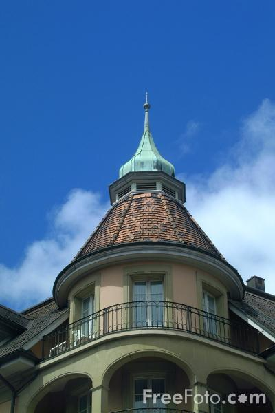 Picture of Hotel Royal-St.Georges, Interlaken, Berner Oberland, Switzerland - Free Pictures - FreeFoto.com