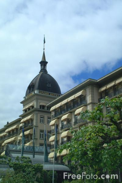 Picture of Victoria Jungfrau Grand Hotel - Free Pictures - FreeFoto.com