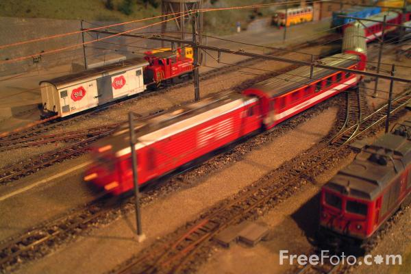 Picture of Modelleisenbahn-Treff - Model Railway, Interlaken, Berner Oberland, Switzerland - Free Pictures - FreeFoto.com