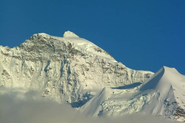 Picture of Jungfrau Mountain Range, Interlaken, Berner Oberland, Switzerland - Free Pictures - FreeFoto.com