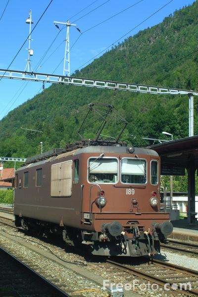 Picture of BLS Lötschbergbahn - Free Pictures - FreeFoto.com