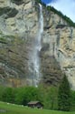 Staubbach Waterfall, Lauterbrunnen, Berner Oberland has been viewed 4915 times
