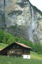 Staubbach Waterfall, Lauterbrunnen, Berner Oberland has been viewed 4819 times