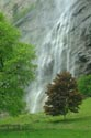Staubbach Waterfall, Lauterbrunnen, Berner Oberland has been viewed 5172 times