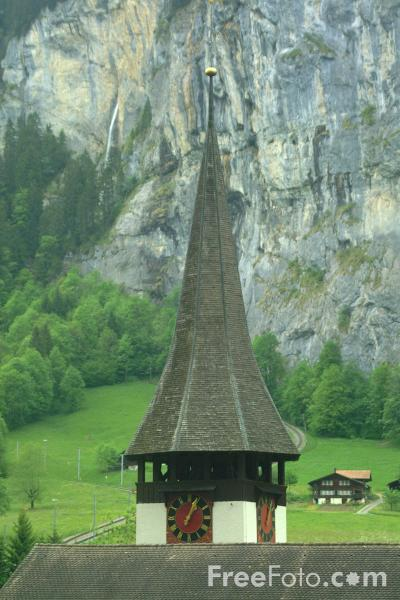 Picture of Lauterbrunnen Valley - Free Pictures - FreeFoto.com
