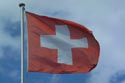 Image Ref: 1302-24-2 - Swiss Flag, Oberhofen am Thunersee, Viewed 6780 times