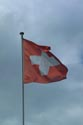 Image Ref: 1302-24-69 - Swiss Flag, Oberhofen am Thunersee, Viewed 3938 times