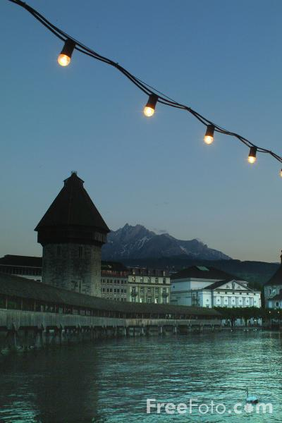 Picture of Night Time, Lucerne - Free Pictures - FreeFoto.com