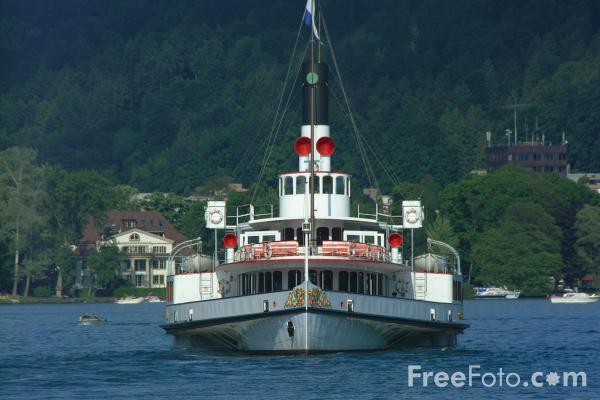 Picture of Paddle Steamer Uri, Lake Lucerne - Free Pictures - FreeFoto.com