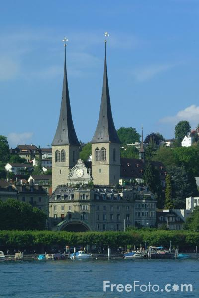 Picture of The Abbey Court Church, Lucerne - Free Pictures - FreeFoto.com