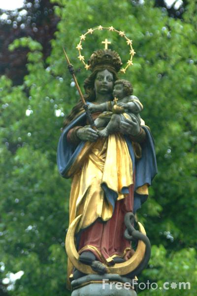 Picture of Statue, Lucerne - Free Pictures - FreeFoto.com